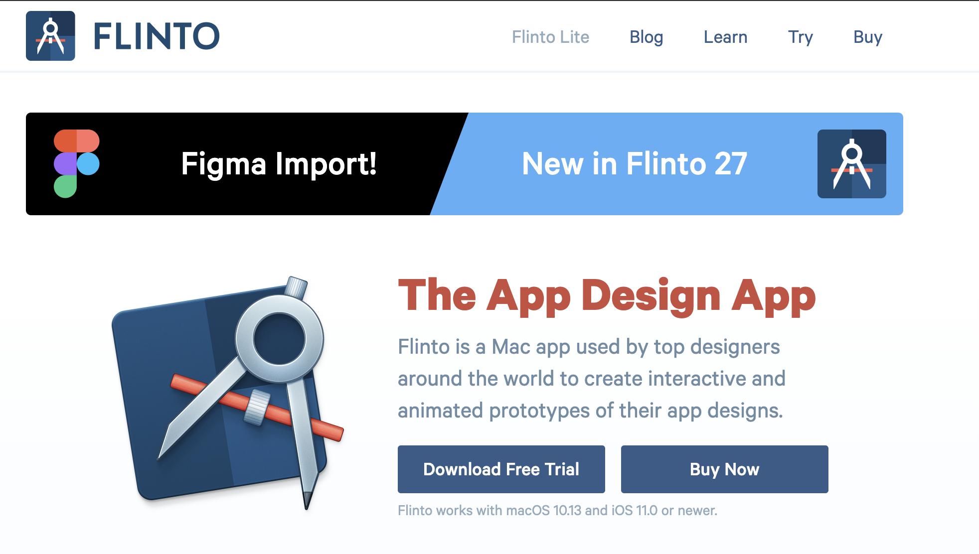 モックアップツールの紹介、FLINT